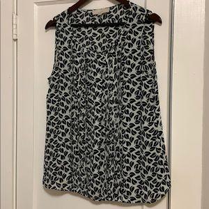 Loft blouse, M, edges of pleats have some threads